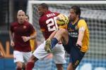 Roma, ennesima frenata: Juve a -9 Milan, col Cesena Inzaghi respira