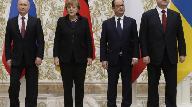 Crisi, minsk, summit, Ucraina, Sicilia, Mondo