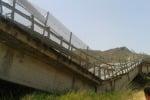 Viadotto Petrulla ancora chiuso, proteste a Ravanusa