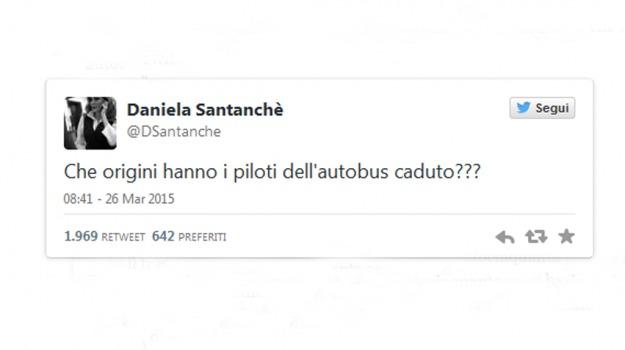 aereo caduto, gaffe, Daniela Santanchè, Sicilia, Società