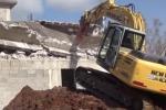 Demolita a Palermo costruzione abusiva di 600 metri quadri - Video