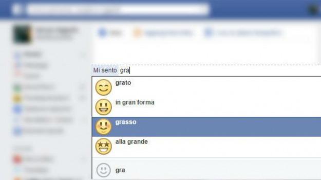 facebook, status, Sicilia, Società