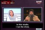 """Islamista alla giornalista: """"Stai zitta"""" e lei chiude la diretta tv"""