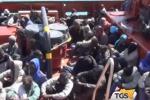 Immigrazione, 578 clandestini sbarcati a Messina
