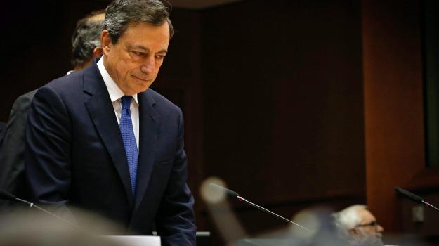 Bce, il presidente, le misure, miglioramento, Mario Draghi, Sicilia, Economia