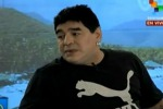 Maradona torna in tv dopo il lifting - Video