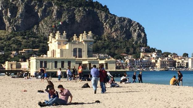 spiaggia, sport, Palermo, Sport