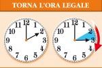 Torna l'ora legale: lancette avanti nel weekend