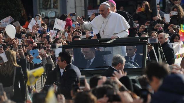 Chiesa, papa, vaticano, visita, Papa Francesco, Sicilia, La chiesa di Francesco