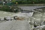 Termini Imerese, esonda il fiume San Leonardo: ecco cosa resta del ponte - Video
