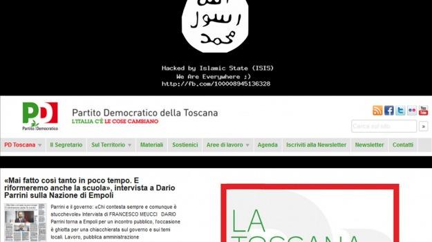 Digos, hacker, Isis, polizia postale, sito Pd, toscana, Sicilia, Cronaca