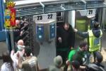 Catania, forzano due tornelli dello stadio: arrestati due tifosi dell'Avellino