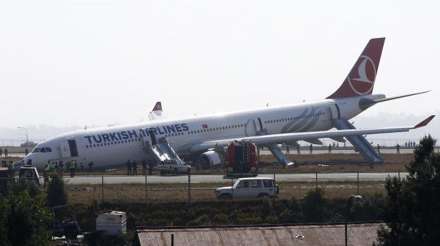 aereo, fuori pista, Nepal, Sicilia, Mondo