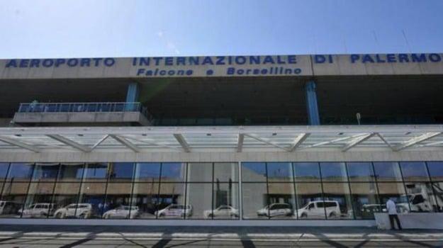 Aeroporto, parcheggio, Palermo, Cronaca