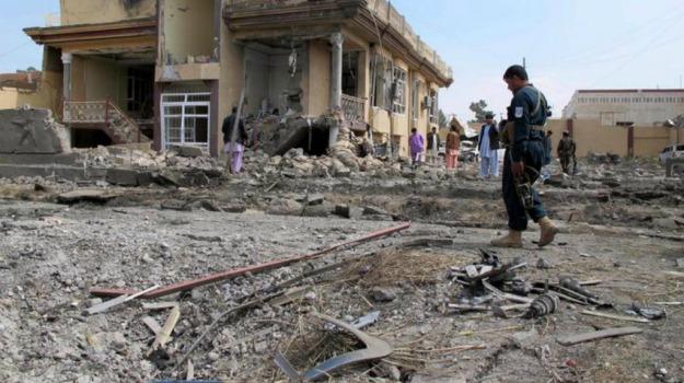afghanistan, attentato, moto-bomba, nord, Sicilia, Mondo