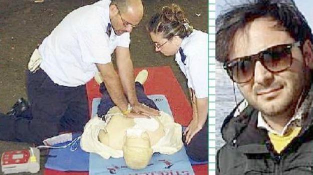 defibrillatore, siculiana, Totò Guarragi, Agrigento, Cronaca