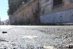 Buche per le strade a Palermo, disagi alla Zisa - Video