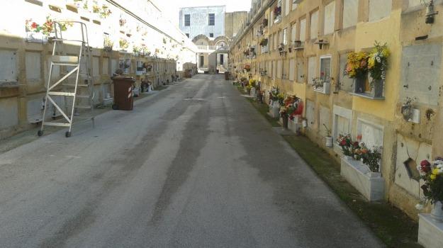 Cimitero, marsala, Trapani, Archivio