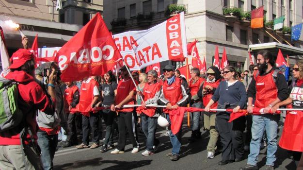 cobas, regionali, regione, sciopero, sindacati, Sicilia, Archivio