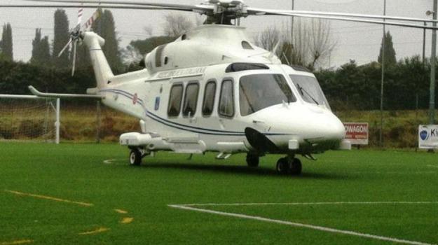 atterraggio d'emergenza, elicottero, guasto, renzi, Matteo Renzi, Sicilia, Cronaca