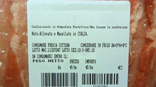 carne, coldiretti, etichetta, provenienza, ue, Sicilia, Economia