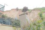 Forti piogge ad Agrigento, frana un altro costone roccioso: paura tra i residenti