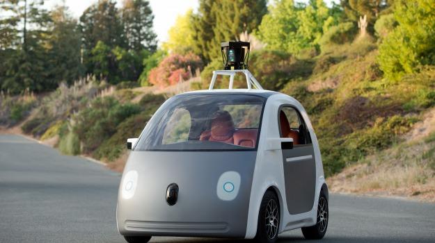 Google car, pedoni, Sicilia, Società