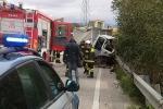 Scontro mortale a Caltanissetta, le immagini dell'incidente - Foto