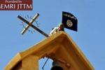 Iraq, chiese distrutte e bandiere Isis al posto delle croci