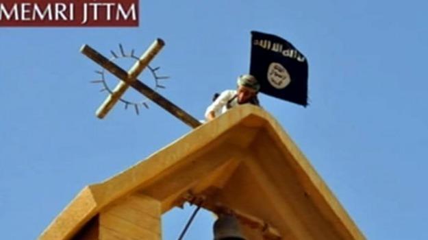 chiese, esercito islamico, Isis, Sicilia, Mondo