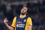 L'attaccante del Verona, Luca Toni