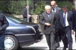 Il presidente Mattarella in visita privata a Palermo - Video