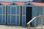 Mondello, ruspe in azione per le cabine: dall'1 maggio al via la stagione balneare
