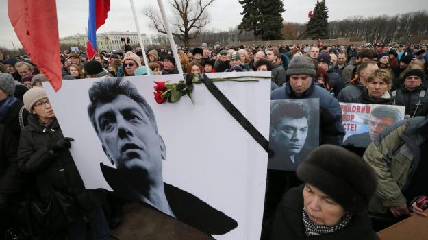 Mosca Russia, omicidio, opposizione, sospettati, Boris Nemtsov, Sicilia, Mondo