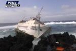 Linosa, peschereccio contro gli scogli: allarme degli ambientalisti - Video