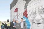 """Il sindaco di Catania: """"Ripuliremo il murales dedicato a Cannavò"""