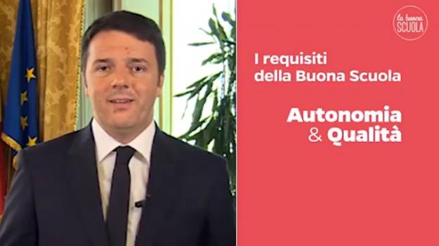 Consiglio dei ministri, ddl, riforma, scuola, Matteo Renzi, stefania giannini, Sicilia, Politica