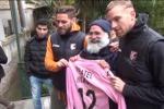 I rosanero Rigoni e Rispoli alla Missione di Biagio Conte - Video