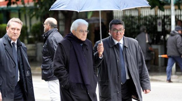 funerali, Palermo, presidente della Repubblica, Sergio Mattarella, Sicilia, Politica