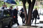Mattarella a Palermo, a piedi un tratto di via Liberta - Foto