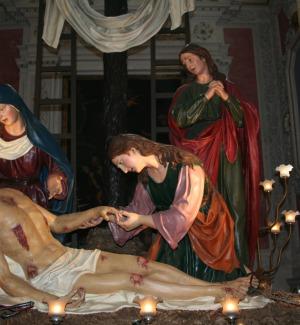 Vare del Giovedì Santo esposte, record di visitatori a Caltanissetta