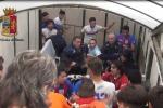 Rissa durante la partita Vittoria-Paternò: 15 persone denunciate