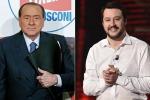 """Centrodestra, incontro Salvini-Berlusconi. """"Molti punti in comune"""""""