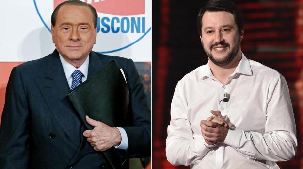 legge elettorale, Matteo Salvini, Silvio Berlusconi, Sicilia, Politica