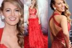 Blake Lively, abito rosso e fisico mozzafiato: la star di Gossip Girl torna in pubblico dopo il parto - Foto