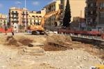 Il cantiere del tram a Palermo