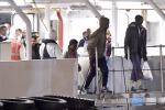 Strage nel Mediterraneo: l'arrivo a Catania dei migranti sopravvissuti - Foto