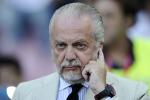 """Zamparini """"tifa"""" per De Laurentiis: """"Spero che Dybala lo prenda il Napoli"""""""