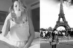 Emma Marrone sensuale appena sveglia all'ombra della Torre Eiffel: vacanza romantica a Parigi con Fabio Borriello? - Foto