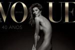 Nuda in copertina dopo l'addio alle passerelle: la statuaria Gisele Bündchen festeggia così i 40 anni di Vogue - Foto